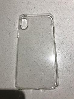 Clear TPU plastic iPhone X case BRAND NEW