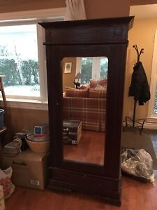 ***ARMOIRE WITH MIRROR FOR SALE***NEED GONE BY 19th