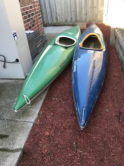 Kayak (2) fibreglass
