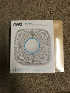 NEST PROTECT 2ND GEN WIFI SMOKE/CO2 DETECTOR- 120V BRAND NEW