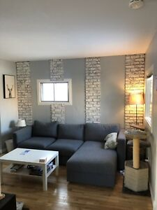 Updated 1 bedroom house close to River valley / downtown