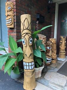 Tiki Bar Carving