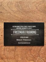 FRAMERS WANTED