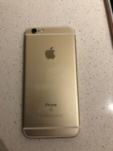 *NEARLY NEW GOLD IPHONE 6s* 16GB