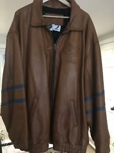 Men's leather San Jose hockey 3xxl