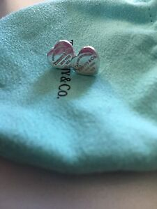 Tiffany and Co Authentic heart earrings