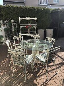 Set patio de luxe living garden