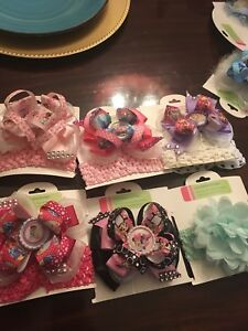Beautiful interchangeable over the top HairbowS