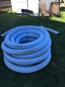 "4"" x 50' Corrugated Drain Pipe, with Filter  - Big O Pipe"