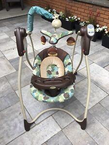 Graco baby swing