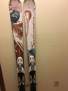 Women's Salamon Downhill Skis 152