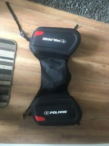 Polaris snowmobile saddlebags