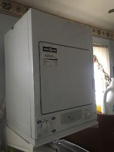 Stackable GE Washer and Dryer - almost new!!