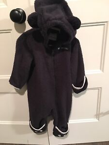 Columbia Black Bear bunting snowsuit