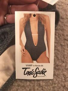 toxic Sadie bathing suit - VAMP in Route 66