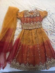 Indian Bollywood Bridal Lengha Dress