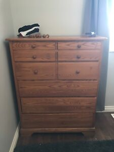 Solid Canadian made Dresser