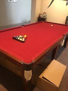 Pool table  Billiard and snooker set up Hillside Melton Area Preview