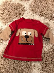 3 month long sleeve Carter's shirt