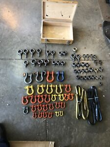 D Ring Shackles and I bolts