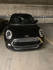 Transfer lease Mini cooper 3 door Midnight black