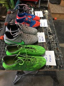 Soccer Cleats $5 to $20