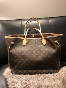 Authentic Louis Vuitton Neverfull GM in Mono