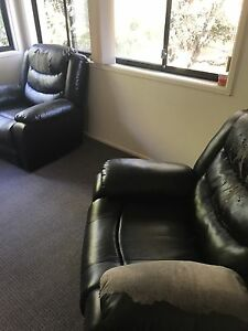 3 seater lounge with 2 recliners Burleigh Waters Gold Coast South Preview