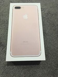 IPhone 7plus brand new 256gb rose gold unlock Prospect Prospect Area Preview