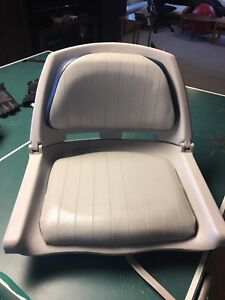 2 fold down boat seats