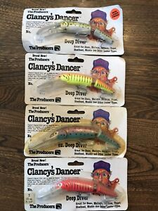Clancy's Dancer Lures x 4