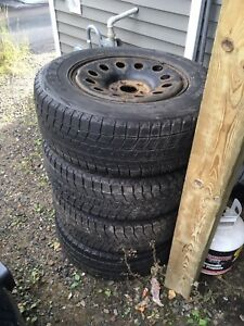 245/70/R17 winter tires and rims