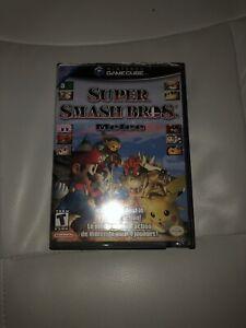 Super Smash Bros Melee - Manual and Box - Gamecube