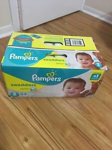 Size 2  pampers diapers