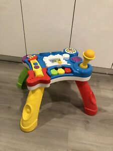 Playskool rocktivity sit to stand music table