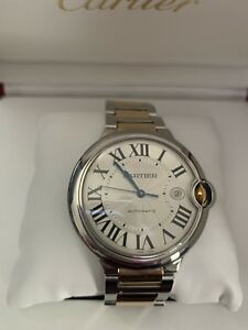 CARTIER BALLON BLEU LIKE NEW YELLOW GOLD/ SS ROLEX HUBLOT PATEK
