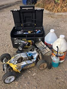 Duratraxx 835b 1/8th scale nitro buggy