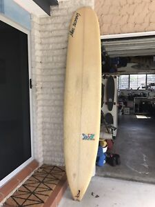 Longboard surfboard 9ft with cover and legrope