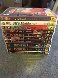 Futurama Seasons 1-7 $40