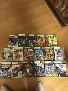 Xbox 360 and games and Kinect