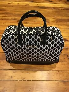 Vera Bradley Ikat trimmed travel bag