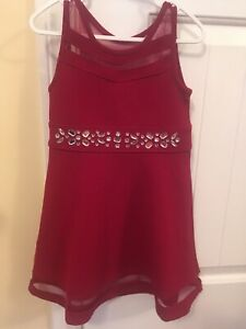 Red Children's Place Dress- Size 4