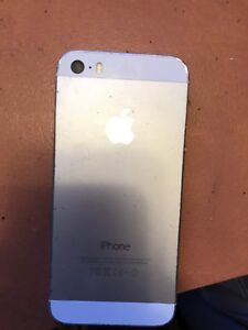 iPhone 5s silver 16Gb *60$!!!*