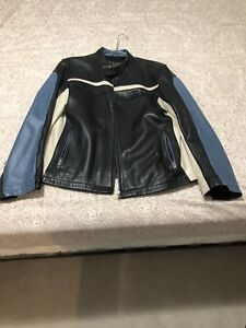 Motorcycle/Bomber style Leather Jacket