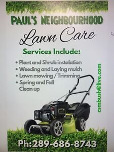 Lawncare and general maintenance