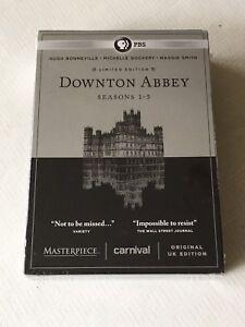 New Downton Abbey seasons 1-5 DVD box set