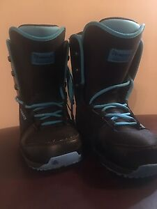 Firefly black snowboard boots. Size-10.5