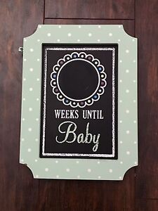 Countdown To Baby Chalkboard