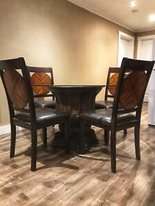 Bombay Company Glass Table & Chair Set