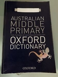 Australian Middle Primary Oxford Dictionary Carindale Brisbane South East Preview